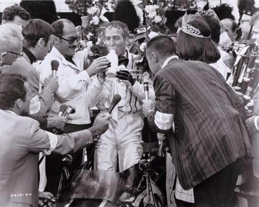 K99 Paul Newman drinking milk David Sheiner Winning