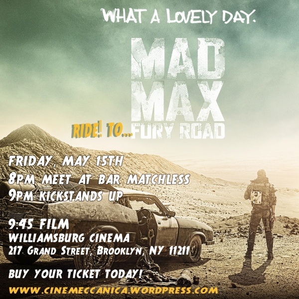 C.M Mad Max FURY ROAD