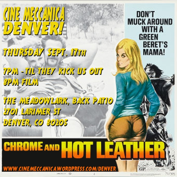 CM Denver Chrome And Hot Leather