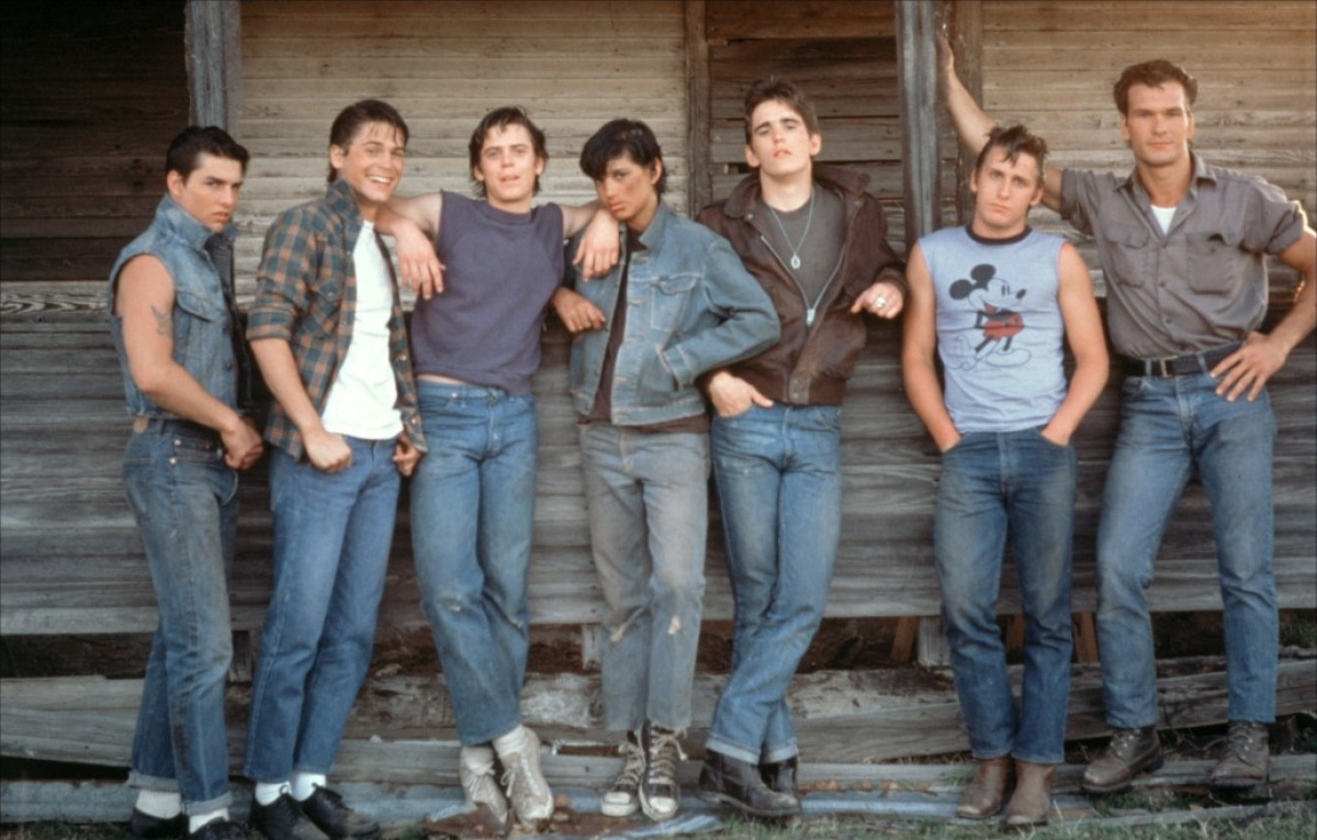 The Outsiders Stay Gold Scene