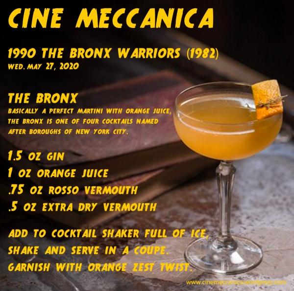 CM Coctail The Bronx